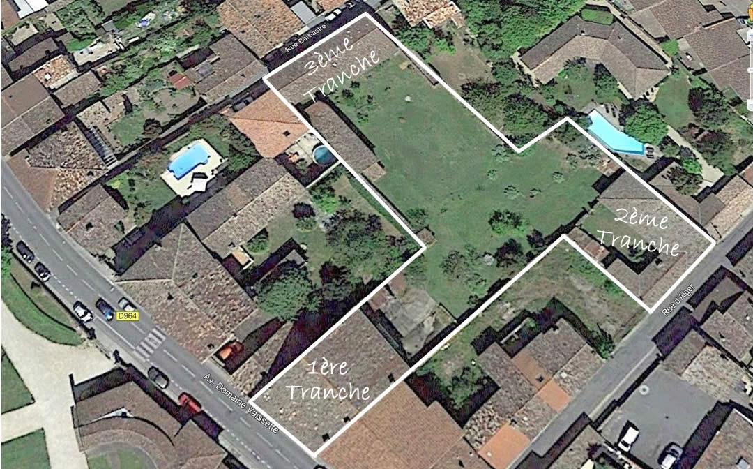 Vue aérienne de la Résidence séniors Foucaud à Gaillac